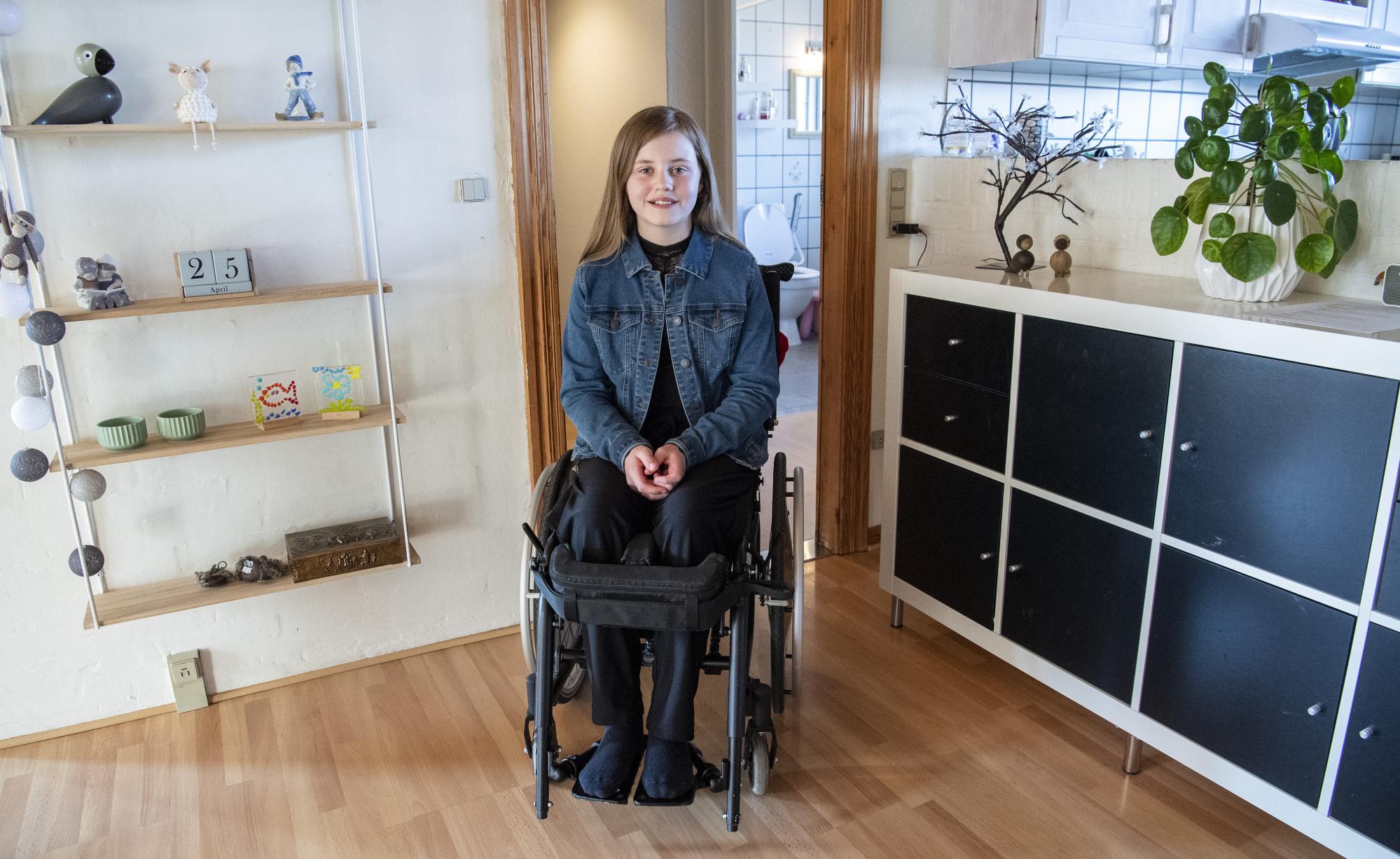 11-årige Mathilde ramt af sjælden sygdom: - Jeg føler, at jeg er lidt i vejen