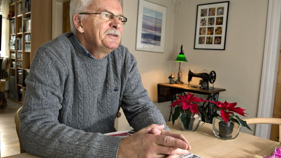 Bjarne Kvist (S): - Hvis jeg hjemme i min lille husholdning har indtægter for 25.000 om måneden, men lægger budget med udgifter for 30.000 kr., er der ingen grund til at prale med, at jeg overholder budgetterne, for så går jeg fallit. Der er der, vi er havnet. Arkivfoto: Henrik Louis