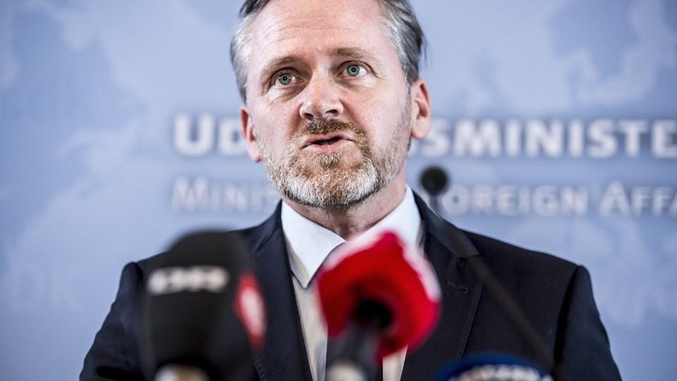 Regeringen forlænger det danske radarbidrag i Irak med yderligere et år. Kampen er ikke slut, lyder det fra udenrigsminister Anders Samuelsen (LA). (Arkivfoto).