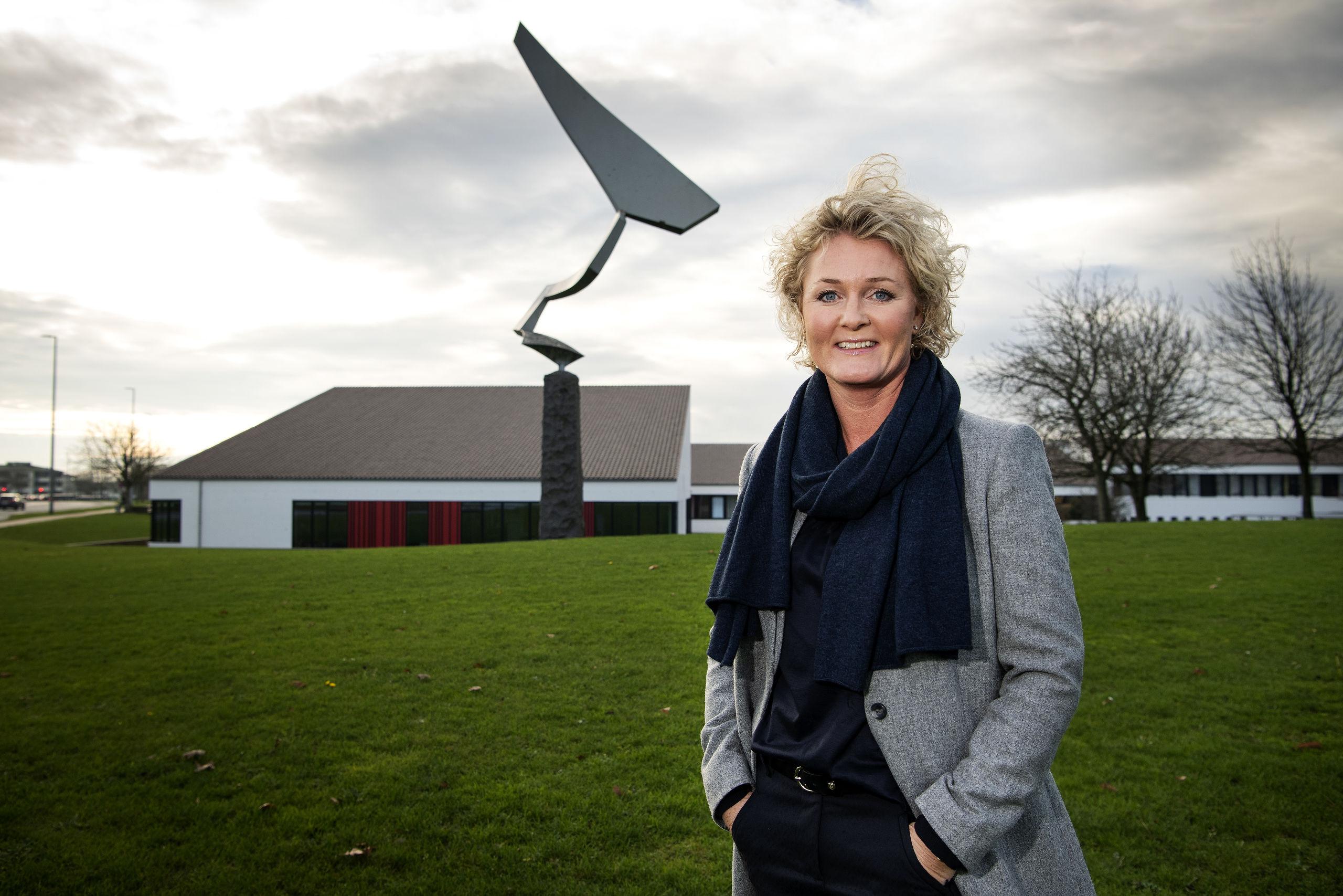 Hun flyttede for en periode til København, men efter hun og hendes mand blev forældre, valgte de at flytte til Aalborg. Foto: Henrik Bo
