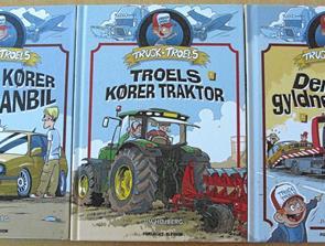 Nye bøger i serien om Truck-Troels