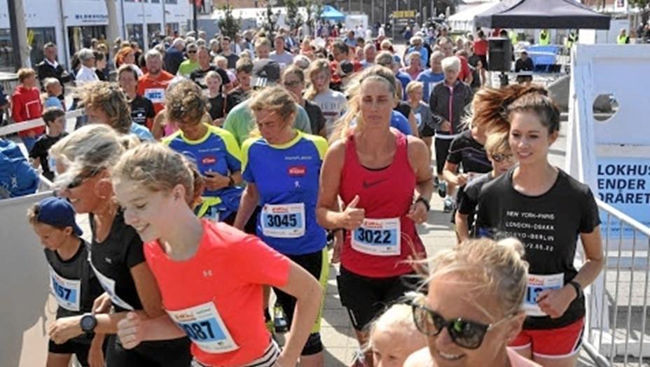 To løbeklubber bag Blokhus Marathon