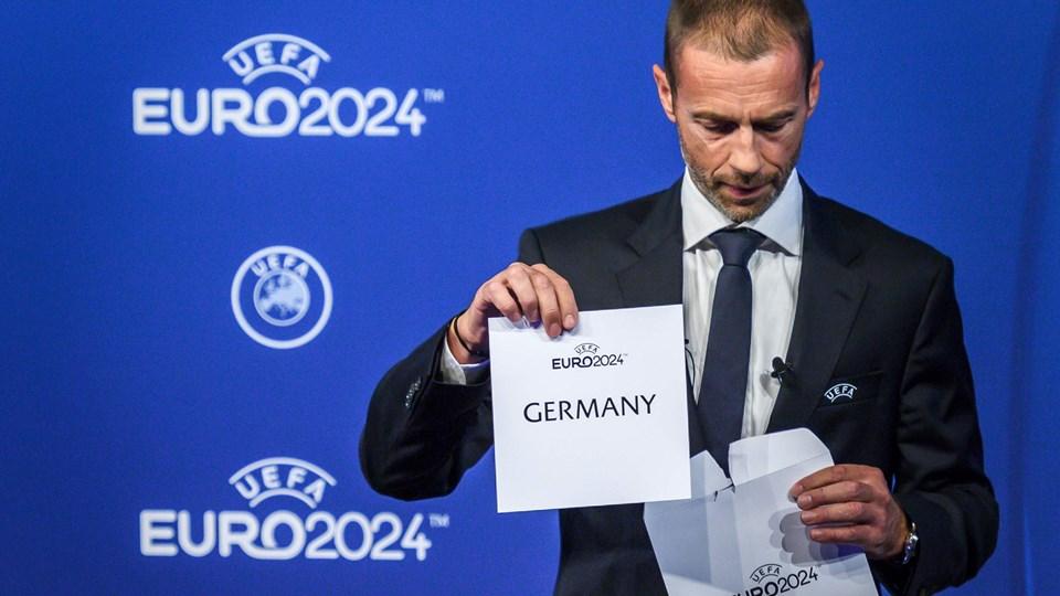 Aleksander Ceferin blev valgt til Uefa-præsident i 2016 for at fuldføre præsidentperioden for udelukkede Michel Platini. Siden har han blandt andet været med til at udnævne Tyskland til vært for EM i 2024.