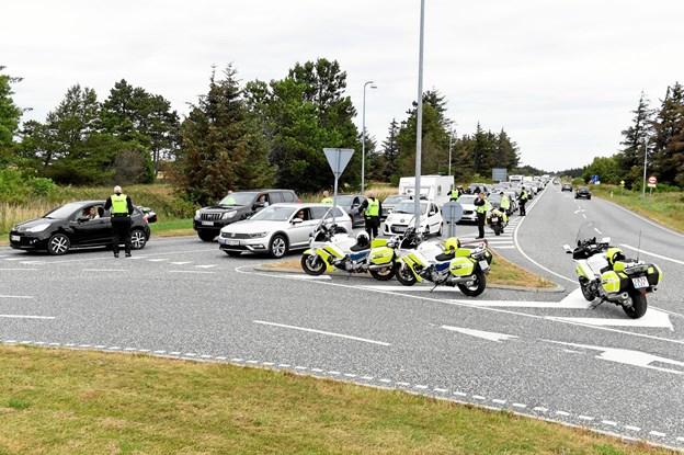 """Politiet på stor spritrazzia i Skagen: Pludselig vendte en tuk-tuk rundt og """"stak af"""""""