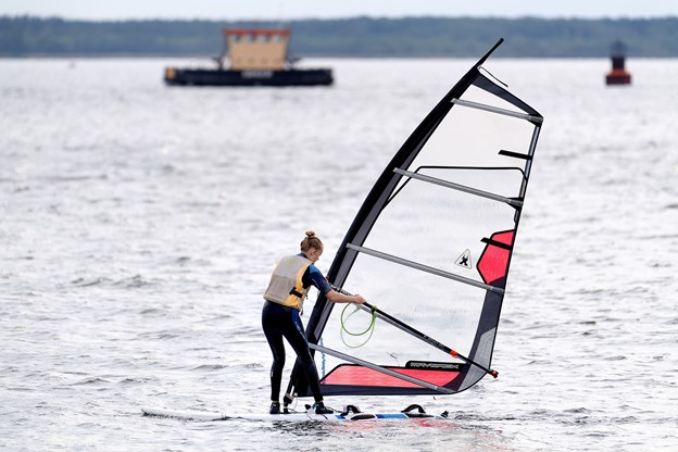 Den 15-årige Andrea Bagger Pedersen har allerede haft adskillige gode ture på fjorden.