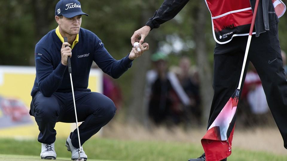 Lucas Bjerregaard er tirsdag tilbage i Frederikshavn Golf Klub.Arkivfoto: Henrik Bo