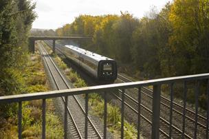 Af banen: Træer og flagstænger skal væk for at gøre plads til elektriske tog
