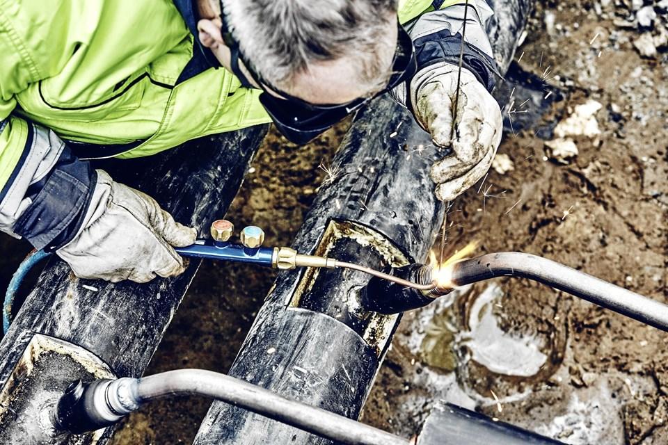 Torsdag 6. december klokken 19 skulle der igen være varmeforsyning uden afbrydelser til området omkring Niels Juels Vej og Abildvej. Foto: Frederikshavn Varme