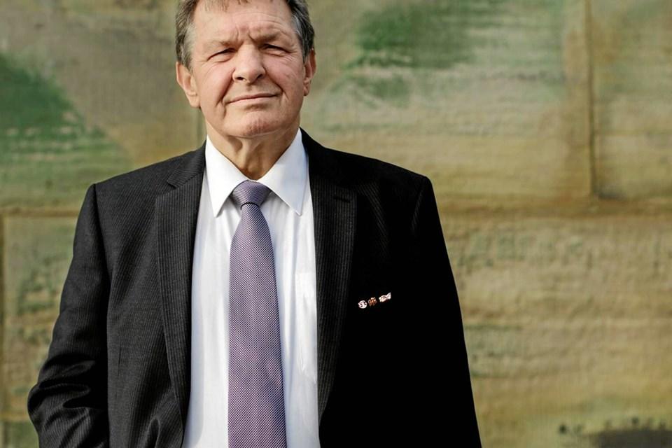 Hør det tyske mindretals danske stemme, Siegfried Matlok - 10. oktober.                Arkivfoto NISSEN MADS