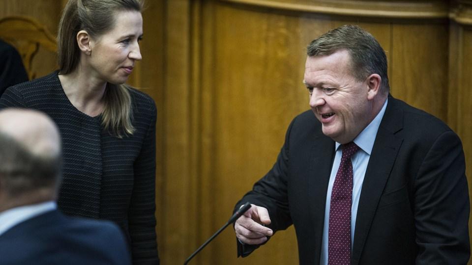 Statsministeren holder ny åbningstale Foto: Scanpix/Ólafur Steinar Gestsson