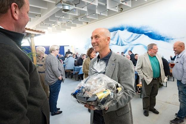 Finn A. Christensen jubilerede med 25 års firmafest.Foto: Kim Dahl Hansen