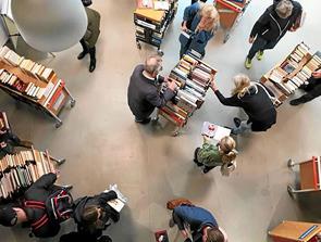 Biblioteker sælger ud i vinterferien