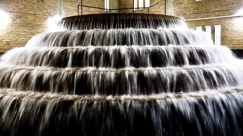 Tune Vandværk og en husejer har været i retten for at få afklaret striden om et spild på 6000 kubikmeter vand. Fotografiet er ikke fra det berørte vandværk. (Arkivfoto).