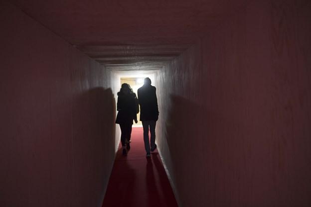 Den røde løber var i dagens anledning rullet ud i Wagner Ejendommen.