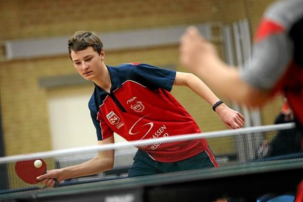 Spillere fra hele landet deltog i stævnet. Foto: Allan Mortensen