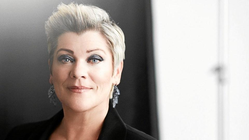 Ann-Mette Elten er hovednavnet ved Hjørring Brassbands nytårskoncert til januar.PR-foto