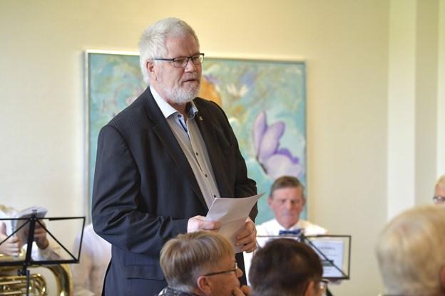 Niels Christian Aaen, næstformand i Frivilligrådet.Foto: Bente Poder