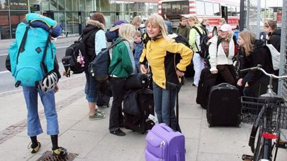 Øster Hornum skole har atter Store Rejse Uge.