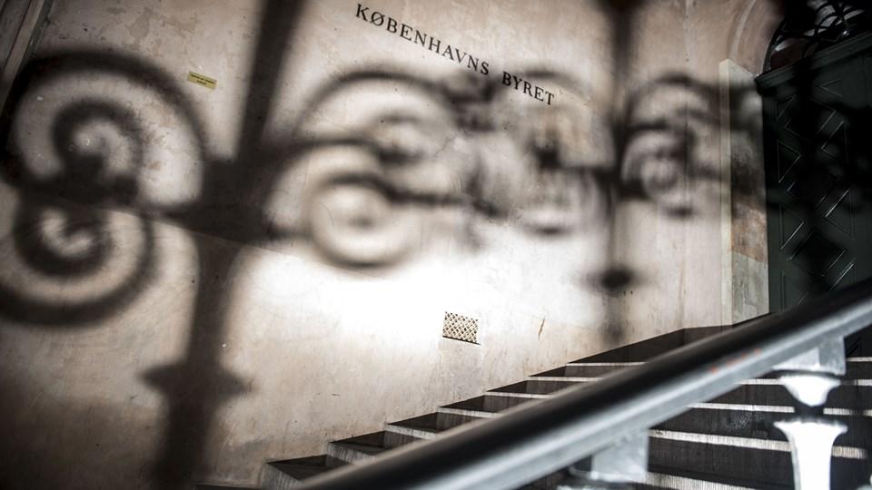 En 41-årig kvinde er i Københavns Byret kendt skyldig i at have efterladt to 14-årige i hjælpeløs tilstand. En af dem døde. Hun straffes med to års fængsel. Foto: Mads Claus Rasmussen/Ritzau Scanpix