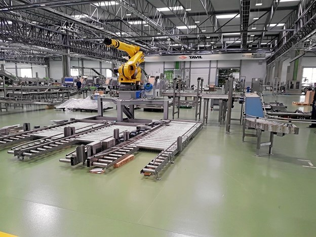 Tavil Scandinavia skal levere udstyr til produktionen af drømmekager.Privatfoto