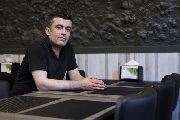 Amir Saadik Amir er daglig leder af restauranten. Foto: Lasse Sand