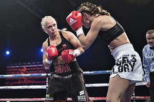 Dina Thorslund forsvarer sin VM-titel i blodig kamp