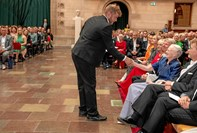 Gammel Hjørring-dreng hilste på Dronning Margrethe