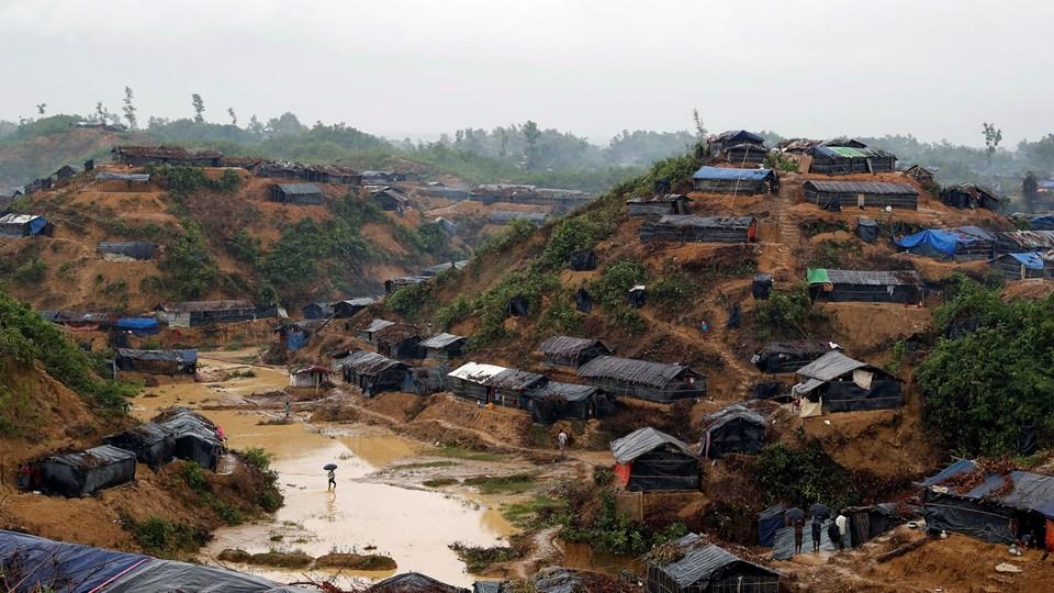 Over en million rohingya-flygtninge bor i Cox's Bazar i Bangladesh på et meget lille stykke land. Foto: Cathal Mcnaughton/arkiv/Reuters