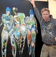 Henrik Busk Andersen samarbejder med Jøni om stort kunstværk