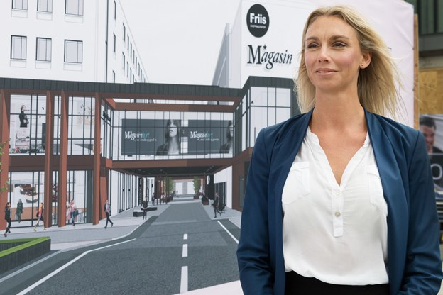 Efter lang tids forberedelse ser Tina Mikkelsen frem til endelig at åbne dørene for kunderne i Magasin. Arkivfoto: Matthew Burnett