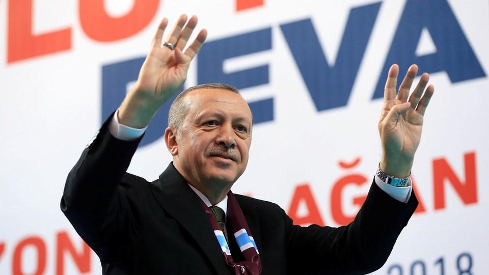 Udviklingen i Tyrkiet, hvor præsident Recep Tayyip Erdogan står for en stadig mere autoritær linje, ventes også at blive drøftet på mandagens møde i Varna i Bulgarien. Reuters/Handout