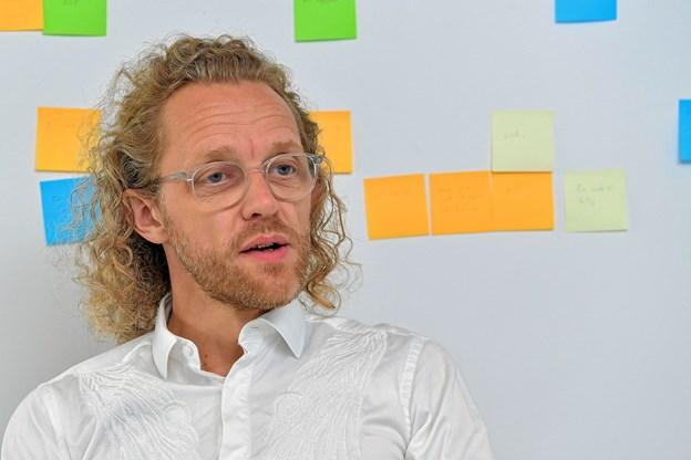 Jakob Tekla Jørgensen ønsker ikke at forlænge sin kontrakt på Teater Nordkraft. Foto: Arkiv/Jesper Thomasen