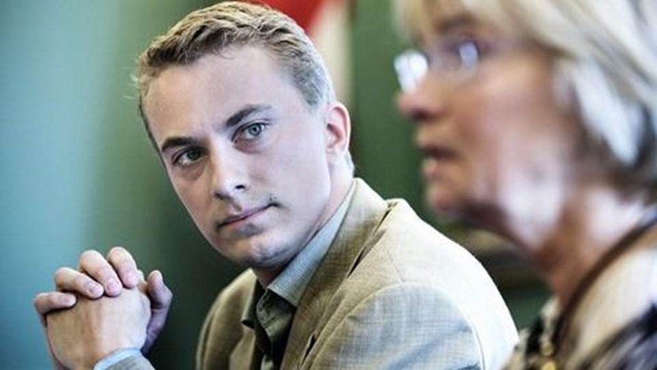 Morten Messerschmidt (DF) blev en af valget helt store stemmeslugere. Scanpix