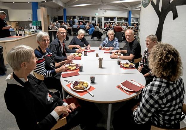 Brugsen har løbet initiativet i gang, og omkring 15 personer fører det ud i livet. Foto: Anders Thomsen