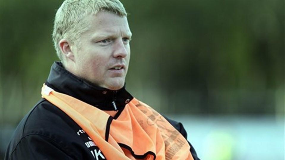 Sportschef Jacob Krüger må ikke hente nye spillere på grund af FC Hjørrings trængte økonomi Foto: Hans Ravn