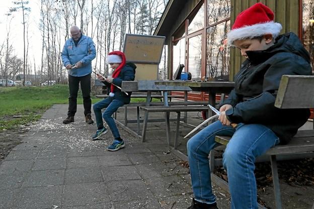 Der var ægte julehygge i Birken. Foto: Allan Mortensen Allan Mortensen