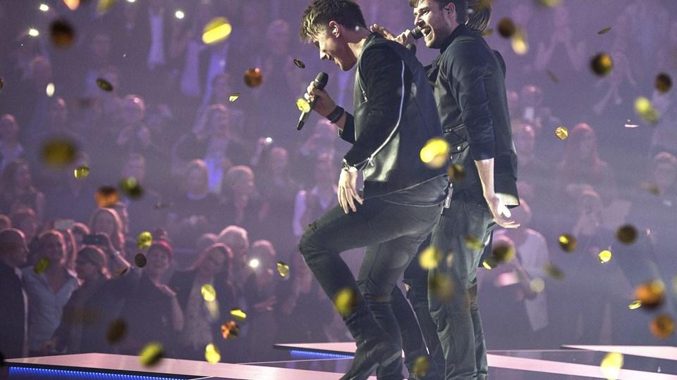 Lighthouse X vinder i Dansk Melodi Grand Prix Foto: Scanpix/Henning Bagger