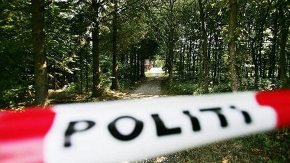 Drabet skete på en landejendom på Hjedsbækvej ved Suldrup. Foto Claus Søndberg