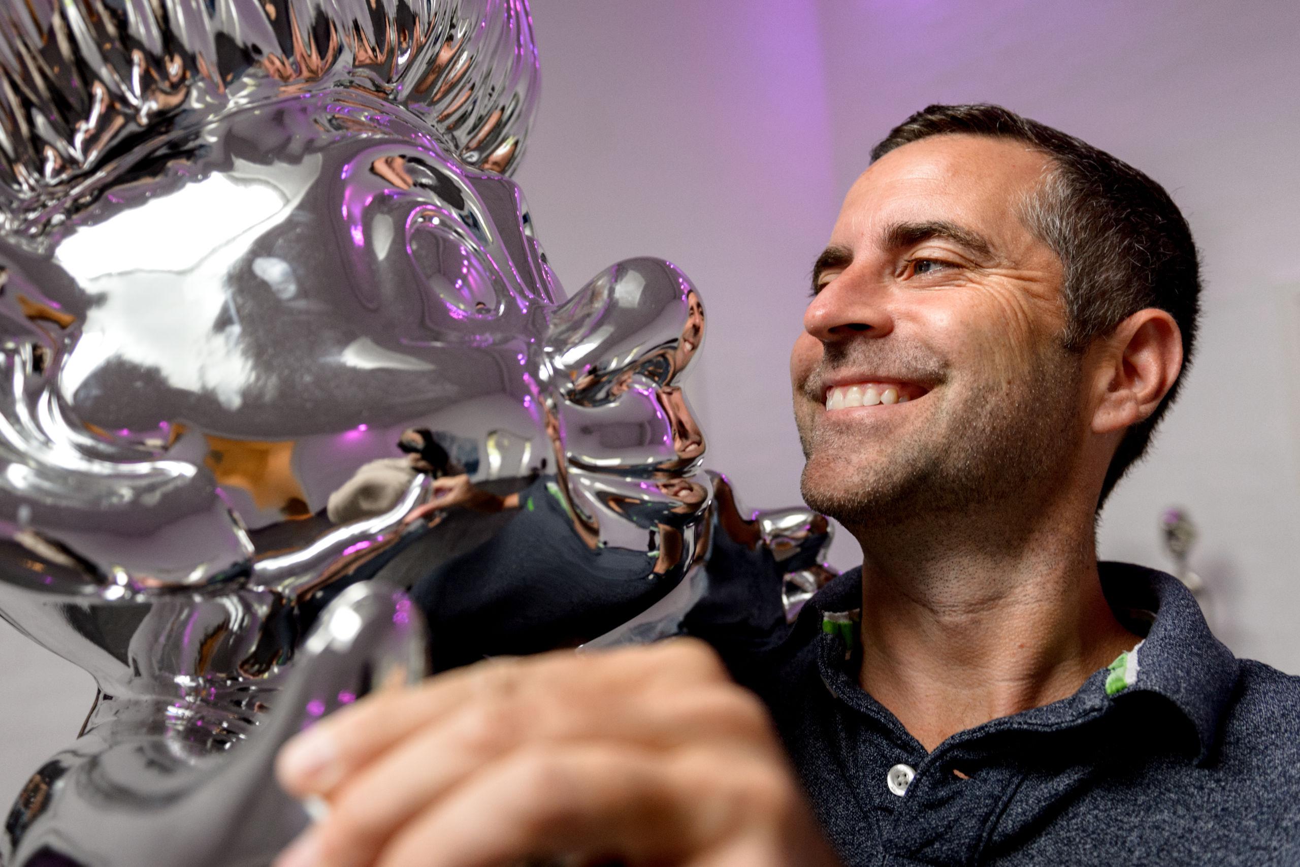 Jacob Risgaard i Løvens Hule efter Stadil: Vil inspirere andre unge, der er, som han selv var