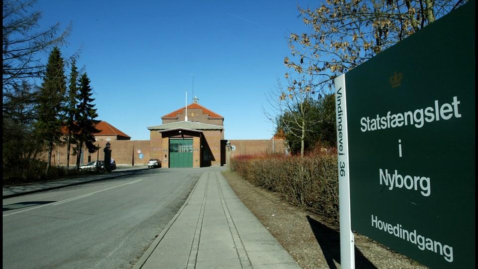 Kriminalforsorgen fandt onsdag i sidste uge ekstremistisk indhold på fire playstations i Nyborg Fængsel. Foto: Scanpix/Ernst Van Norde
