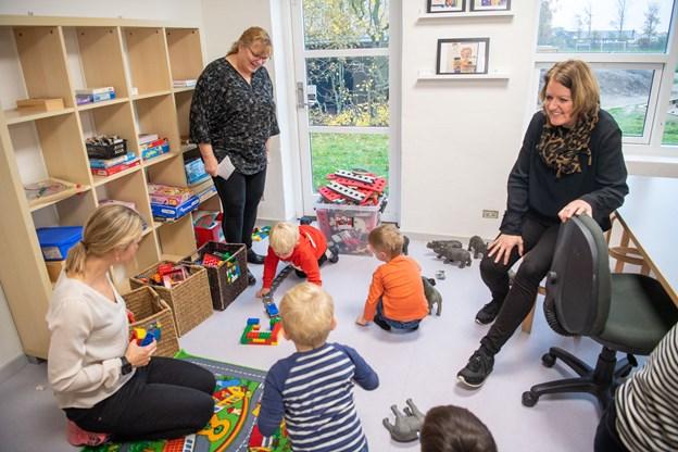 Foto: Kim Dahl HansenRavnshøj - Ravnshøj skole og Børnehuset Troldehøj er blevet gennemrenoveret.Lokalerne indvies.