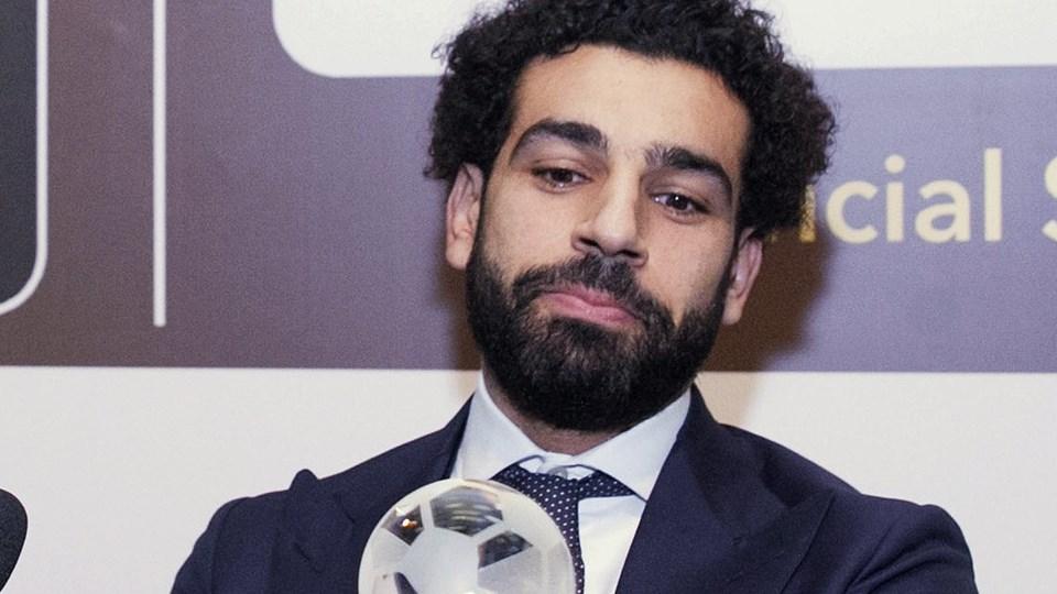 Mohamed Salah er torsdag blevet kåret til årets spiller i Afrika. Foto: /ritzau/AP/Christian Thompson