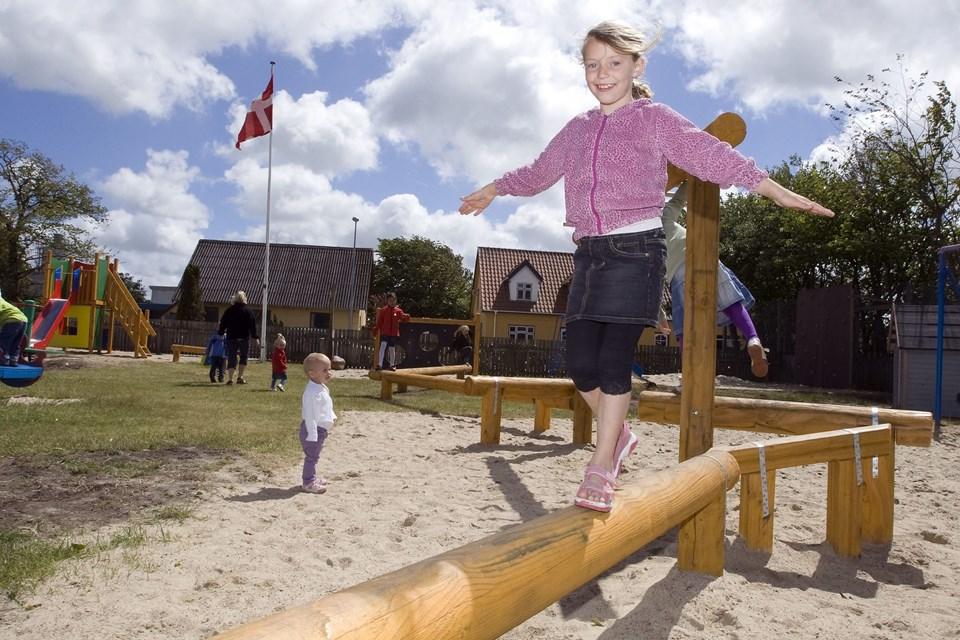 Børnenes Jord i Poulstrup har fået en donation fra gl elever fra Vrejlev-Hæstrup skole.   Arkivfoto: Henrik Louis