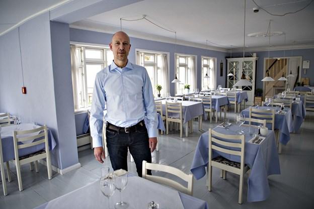 Mikael Valentin, forpagter og direktør for Hjorths Hotel, er næstformand i den nye forening.   Arkivfoto: Kurt Bering