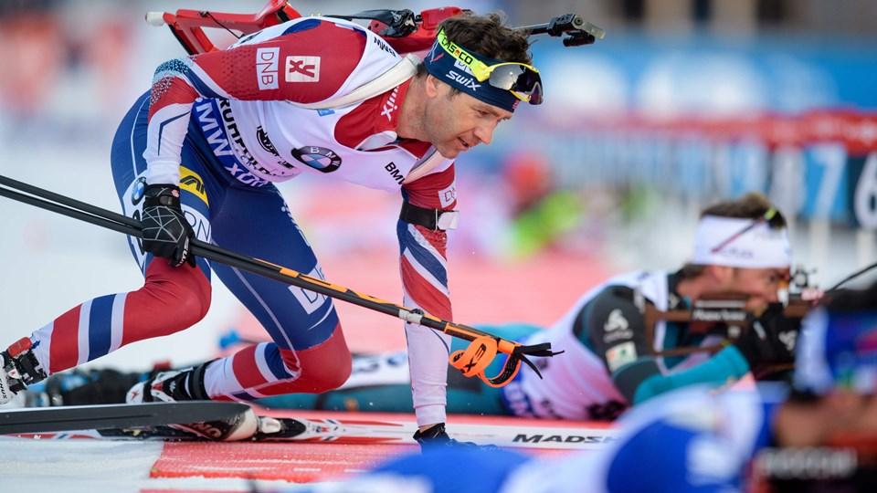 Vinter-OL bliver muligvis uden Ole Einar Bjørndalen. Foto: Scanpix/Matthias Balk