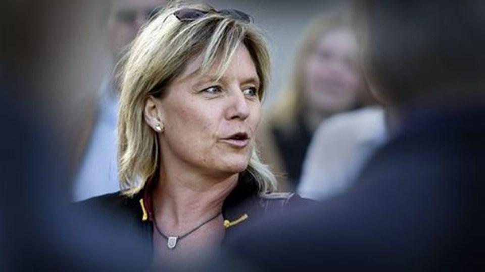 Mariann Nørgaard langer ud efter socialdemokraterne efter deres kovending i sagen om Østre Havn.arkivfoto: michael bygballe