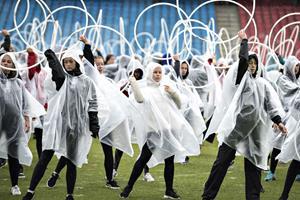 Regn plager Nibe Festival og DGI's landsstævne