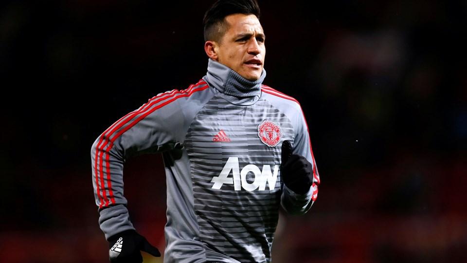 Angriberen Alexis Sánchez har blot scoret et mål siden skiftet til Manchester United. Foto: Scanpix/Jason Cairnduff/arkiv