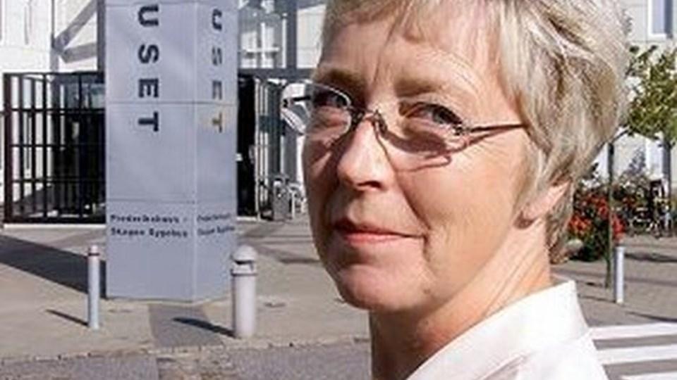 Sygehusdirektør Ingeborg Thusgaard ser sygehuset i Frederikshavn som et sygehus i fuld aktivitet - også fremover.