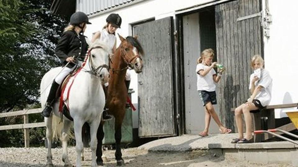 Aars Sportsrideklub inviterer indenfor på Tolstrup Byvej. ARKIVFOTO